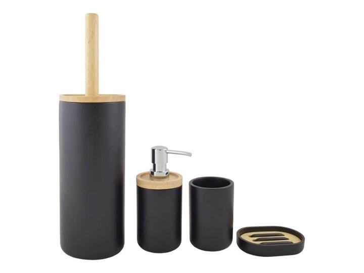 Mydelniczka Sepio Tokyo czarna Drewno Mydelniczki Tworzywo sztuczne Kolor Czarny Kategoria Mydelniczki i dozowniki