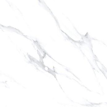 Gres szkliwiony MARMOLI white polished 60x60 gat. I