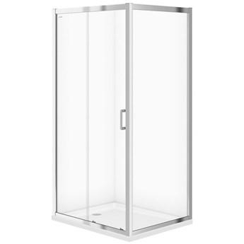 Kabina prysznicowa ARTECO przesuwna 100x80x190 szkło transparentne