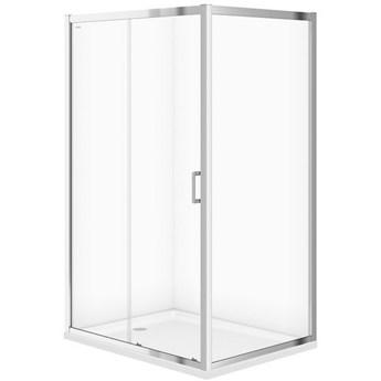 Kabina prysznicowa ARTECO przesuwna 120x90x190 szkło transparentne