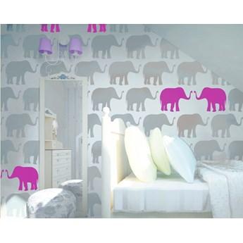 Tapeta Pink Elephants Humpty Dumpty