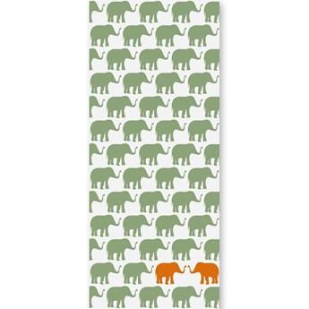 Tapeta Orange Elephants II Humpty Dumpty