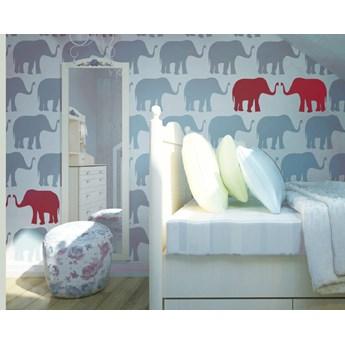 Tapeta Red Elephants Humpty Dumpty