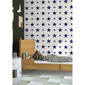 Tapeta Dark Blue Stars Humpty Dumpty