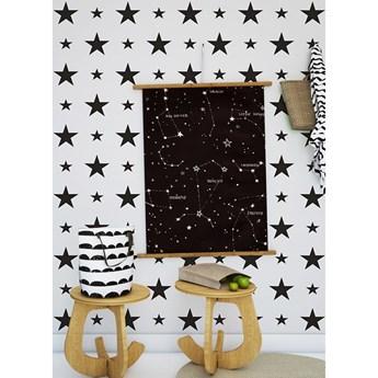 Tapeta Black Stars Humpty Dumpty