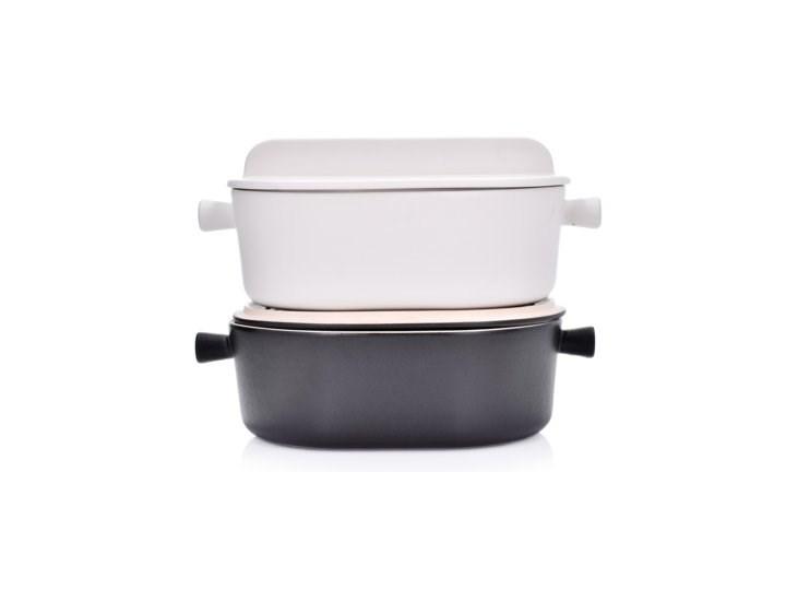Brytfanna do pieczenia z pokrywką DUKA HJALMAR 3000 ml biała kamionka Naczynie z pokrywką Naczynie do zapiekania Kolor Biały Kategoria Naczynia do zapiekania
