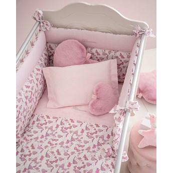 Komplet pościeli dziecięcej do łóżeczka Blumarine Piccola Luna Powder Pink