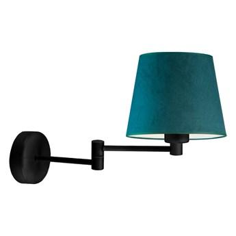 Lampka na czarnym wysięgniku LUGO VELUR WYSYŁKA 24H