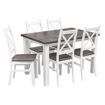 Zestaw Stół z Krzesłami do Kuchni Jadalni 120x80