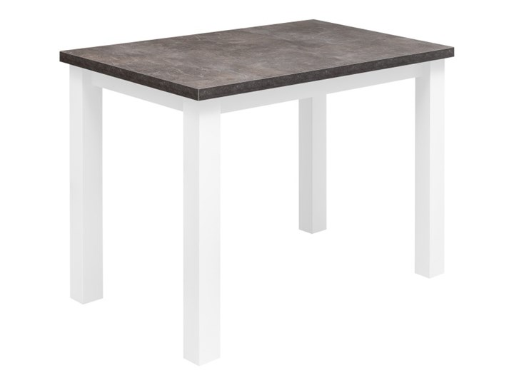 Zestaw Stół z Krzesłami do Kuchni Jadalni 100x70 Kolor Biały Pomieszczenie Jadalnia