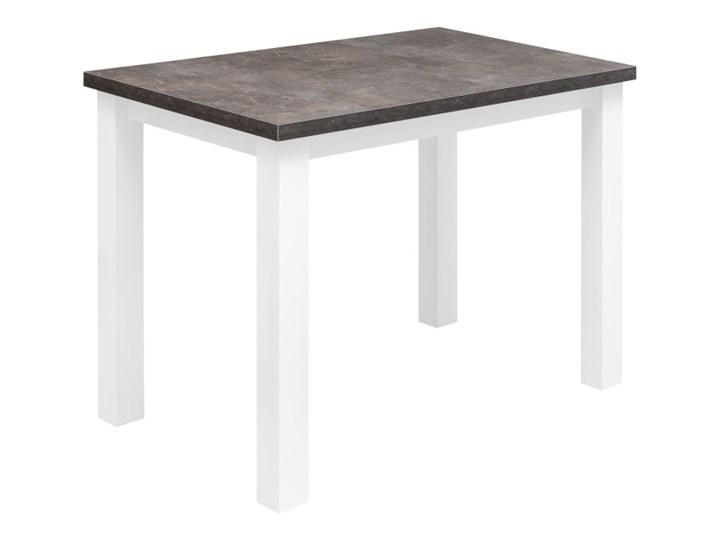 Zestaw Stół z Krzesłami do Kuchni Jadalni 100x70 Kolor Szary