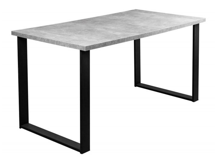 Zestaw LOFT Stół + Szare Krzesła do Salonu 150x80 Kategoria Stoły z krzesłami Kolor Szary
