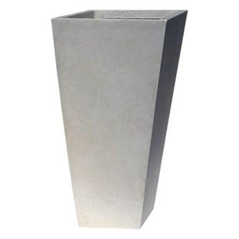 Donica ogrodowa ceramiczna 24x24x46cm