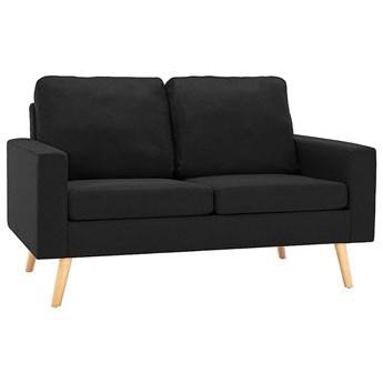 2-osobowa czarna sofa - Eroa 2Q