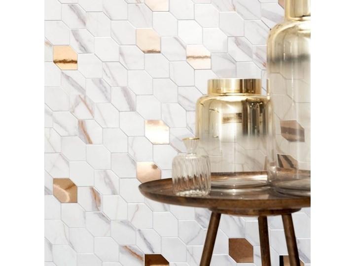 Mozaika Dorado Stone Arte 29,8 x 29,8 cm biała 29,8x29,8 cm Płytki kuchenne Wzór Kamień Płytki ścienne Kolor Biały