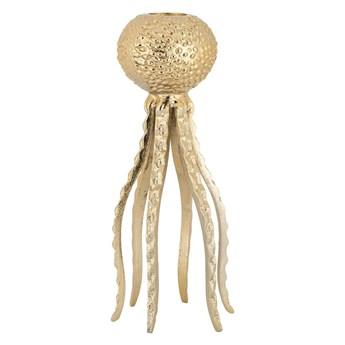 Świecznik złoty Richmond / meduza