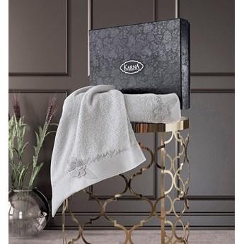 Bilge Ręcznik bawełniany frotte SIENA/3422/grey 50x90+70x140 kpl.