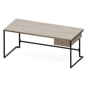 Loftowe biurko gabinetowe NET 1800 x 800
