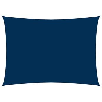 vidaXL Prostokątny żagiel ogrodowy, tkanina Oxford, 3,5x5 m, niebieski