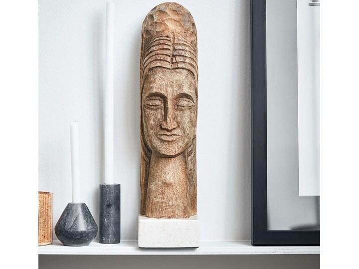 RZEŹBA DZIEŁO SZTUKI MINDFUL NATURAL HOUSE DOCTOR Marmur Drewno Kategoria Figury i rzeźby