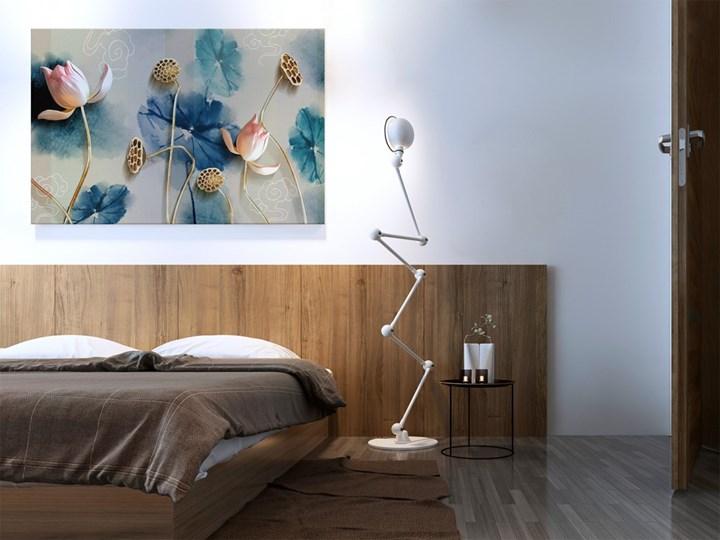 Atramentowe pasje - nowoczesny obraz na płótnie - 120x80 cm Pomieszczenie Kuchnia