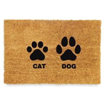 Wycieraczka kokosowa CAT DOG