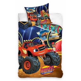 Pościel bawełniana 160x200 Blaze i Megamaszyny, Carbotex