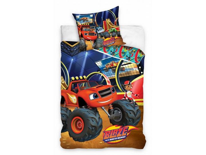 Pościel bawełniana 160x200 Blaze i Megamaszyny, Carbotex 160x200 cm Komplet pościeli Rozmiar poduszki 70x80 cm Bawełna 70x80 cm Pomieszczenie Pościel dziecięca