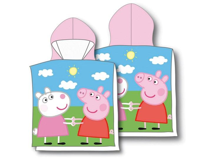 Ręcznik dziecięcy ponczo 50x115 Peppa i Suzy, Aptex 50x115 cm Frotte Ręcznik z kapturkiem Bawełna Ręcznik kąpielowy Ręcznik plażowy Dziecięce Kategoria Ręczniki