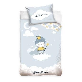 Pościel bawełniana do łóżeczka Baby 90x120 Mały Książe, Carbotex