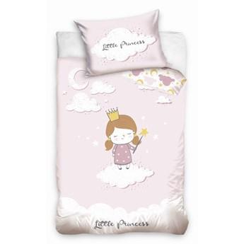 Pościel bawełniana do łóżeczka Baby 90x120 Mała Księżniczka, Carbotex