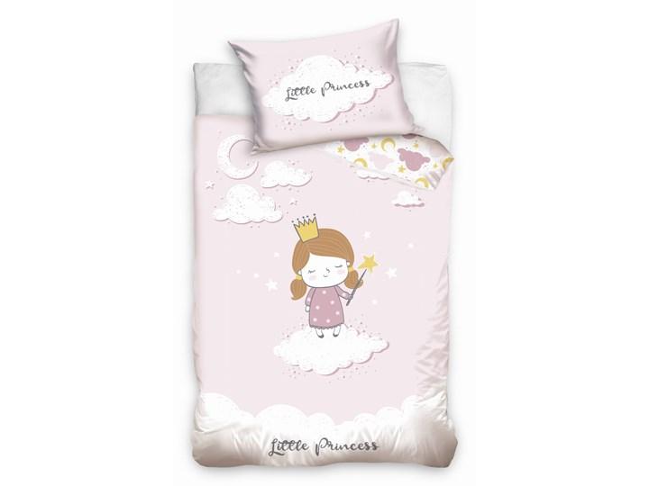 Pościel bawełniana do łóżeczka Baby 90x120 Mała Księżniczka, Carbotex Kategoria Komplety pościeli Komplet pościeli Bawełna 90x120 cm Pomieszczenie Pościel dziecięca