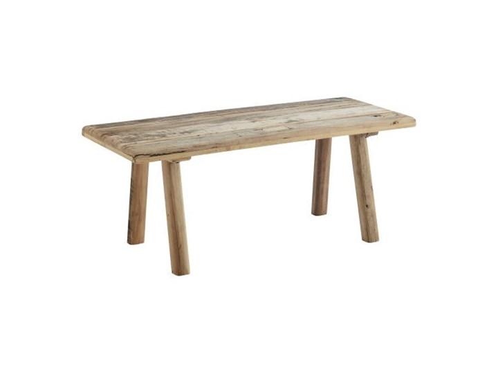 Madam Stoltz - Ławka z drewna z recyklingu Styl Vintage Kategoria Ławki do salonu