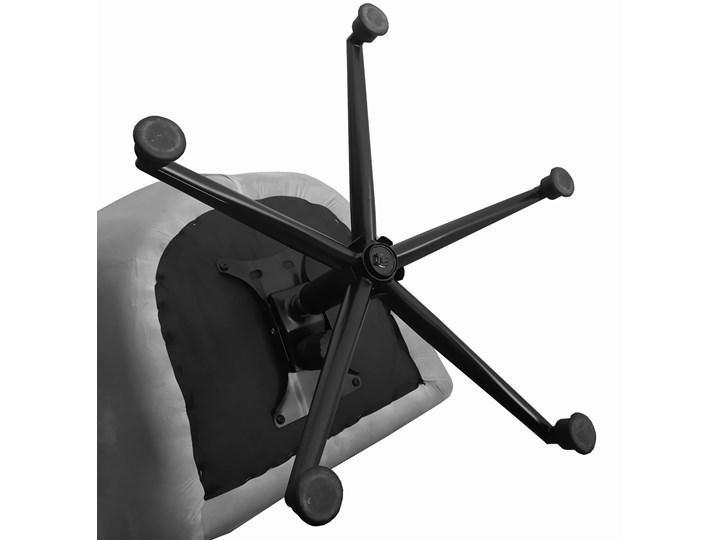 Fotel obrotowy w stylu skandynawskim  Svein (YC-9118) Różowy Głębokość 74 cm Wysokość 120 cm Tkanina Fotel pikowany Metal Kategoria Fotele do salonu