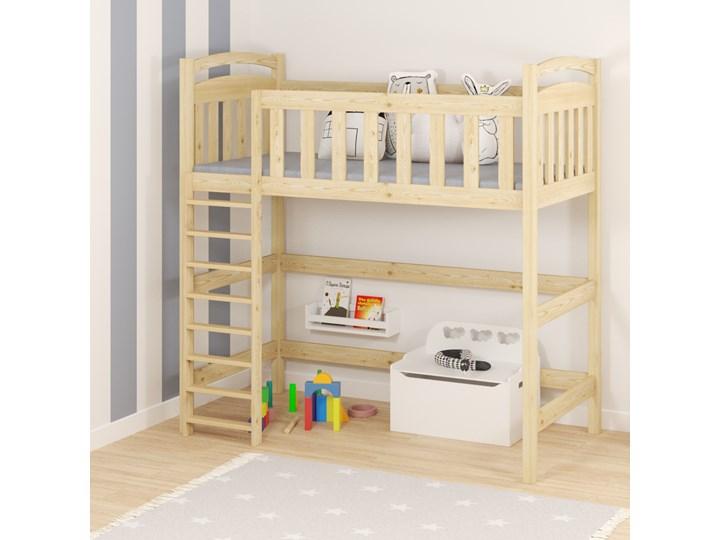 Łóżko antresola DOMINIK wiele rozmiarów i kolorów Drewno Łóżko piętrowe Łóżko na antresoli Kategoria Łóżka dla dzieci