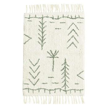 Dywanik łazienkowy Oriot 60x90 cm wzory zielone