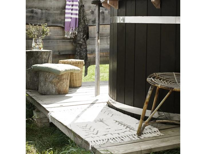 Dywanik łazienkowy Oriot 60x90 cm wzory ciemnoszare Kategoria Dywaniki łazienkowe Kolor Beżowy