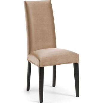Krzesło Freia 45x100 cm taupe-czarne