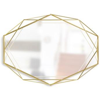Lustro Prisma 43x57 mosiężne