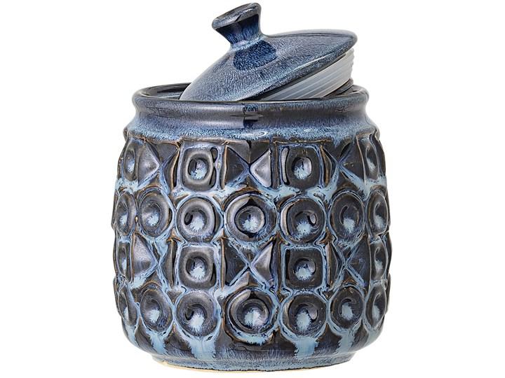 Pojemnik z pokrywką Nena Ø13x16 cm niebieski Typ Pojemniki Kategoria Pojemniki i puszki