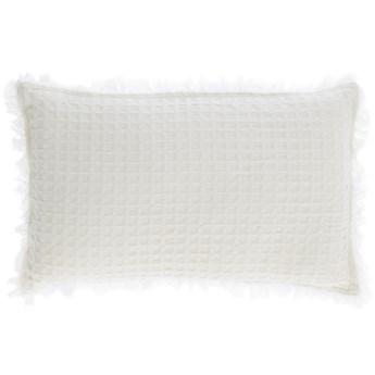 Poszewka na poduszke Shallow 100% bawelna biala 30 x 50 cm