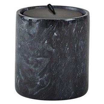 Świeca zapachowa Villa Collection 8x9 cm czarna Herbier