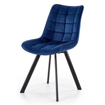 Krzesło do salonu Winston - granatowy