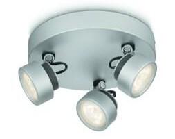 Lampa sufitowa wielopunktowa RIMUS LED aluminium 3x3W Philips_DARMOWA DOSTAWA !!!