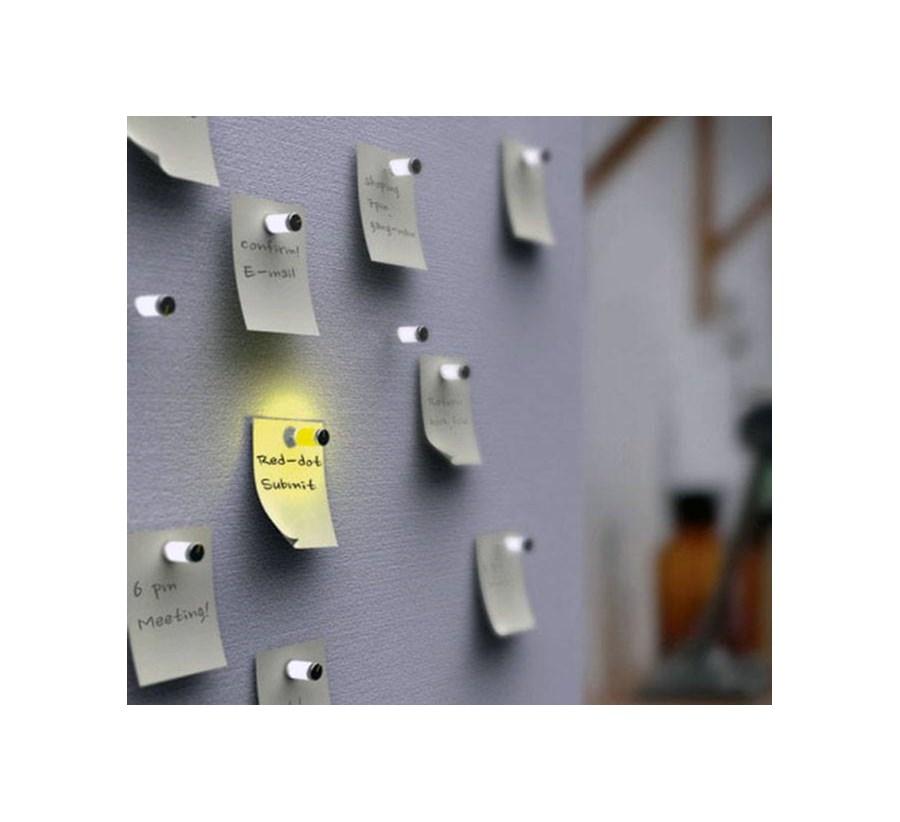 Dodatkowe Świecące Magnesy Pineski - Magnesy na lodówkę - zdjęcia, pomysły JR13