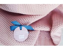 Kocyk tkany Cotton Classic - Perłowy róż, Color Stories