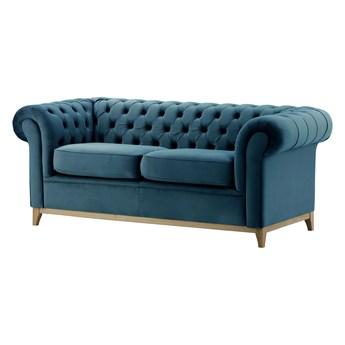 Sofa trzyosobowa Chesterfield Wood