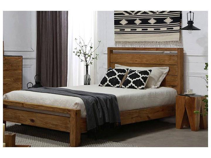 Łóżko drewniane Bucolic 120x200, rustykalne Drewno Styl Nowoczesny