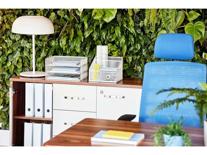 Komoda biurowa Evolutio D606, 120x40x80 cm Szerokość 120 cm Drewno Głębokość 40 cm Kolor Biały