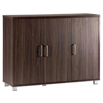 3-drzwiowa komoda Platinum A12 ciemny orzech